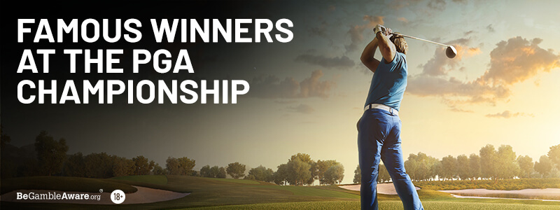 Famous Winners of The PGA Championship