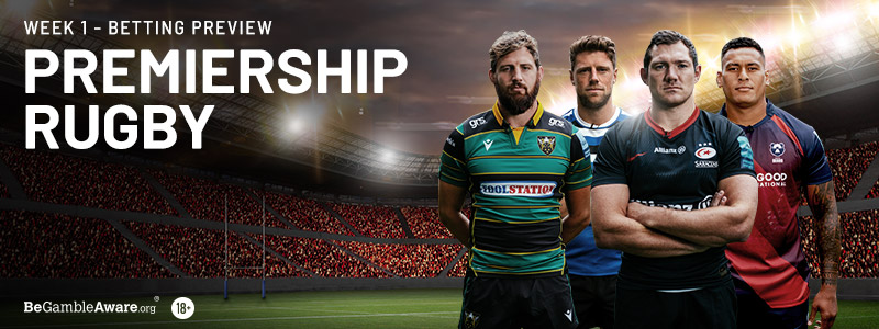 Premiership Rugby Week 1 Betting Preview