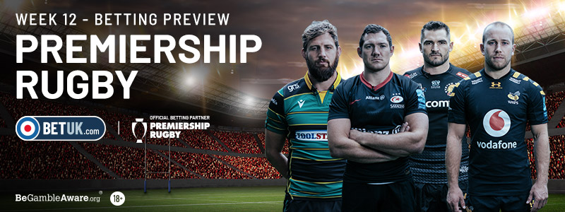 Premiership Rugby Week 12 Preview