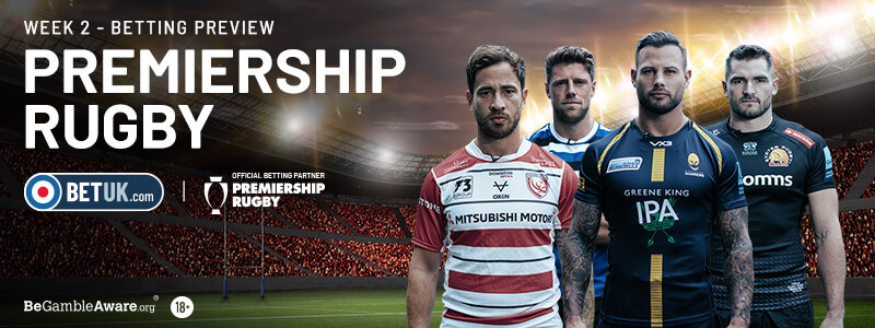 Premiership Rugby Week 2 Betting Preview