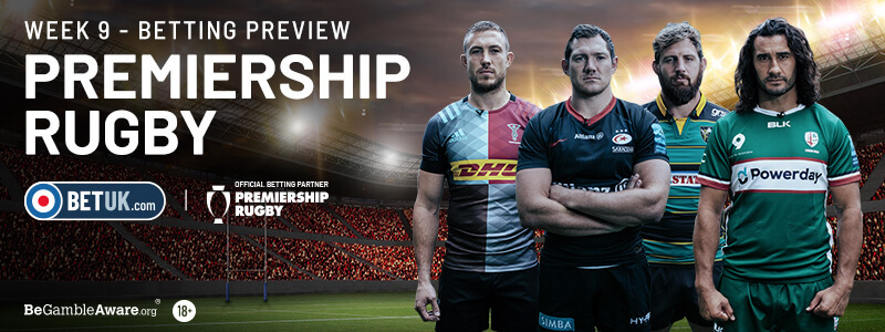 Premiership Rugby Week 9 Preview