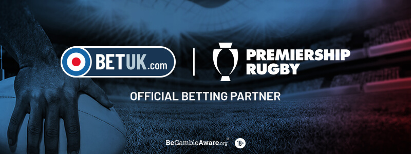 Bet UK Becomes Official Betting Partner Of Premiership Rugby