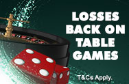 Table Games Losses Back