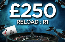 Get your first £250 Reload Bonus with 21.co.uk now!