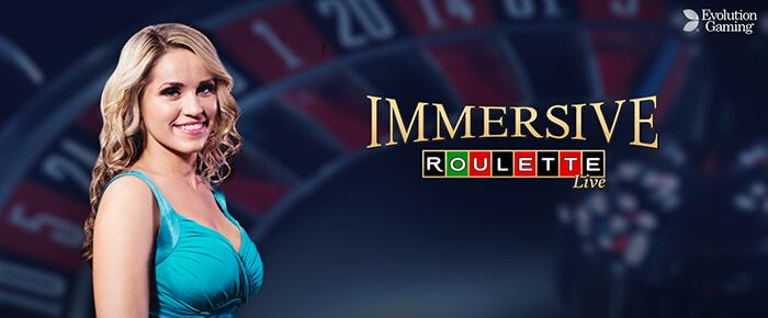 Live Immersive Roulette online casino UK