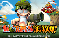 Play Worms Reloaded online slot at Crown Bingo