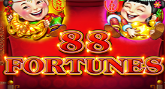 Play 88 Fortunes online slot at Crown Bingo