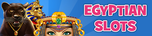 Play Egyptian Slots Online at Crown Bingo