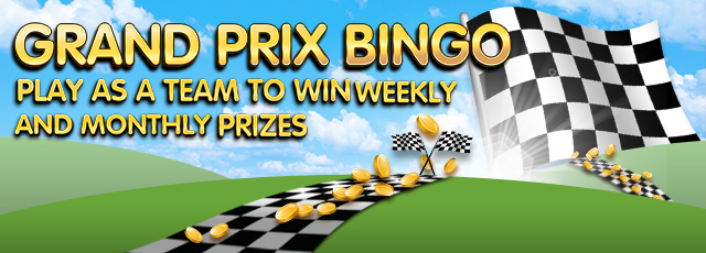 grand prix bingo tournament