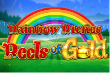 Play Rainbow Riches Reels of Gold slot at Crown Bingo today