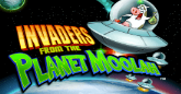 Play Invaders from the Planet Moolah online slot at Crown Bingo