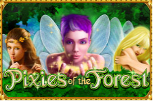 Play Pixies of the Forest online slot at Crown Bingo